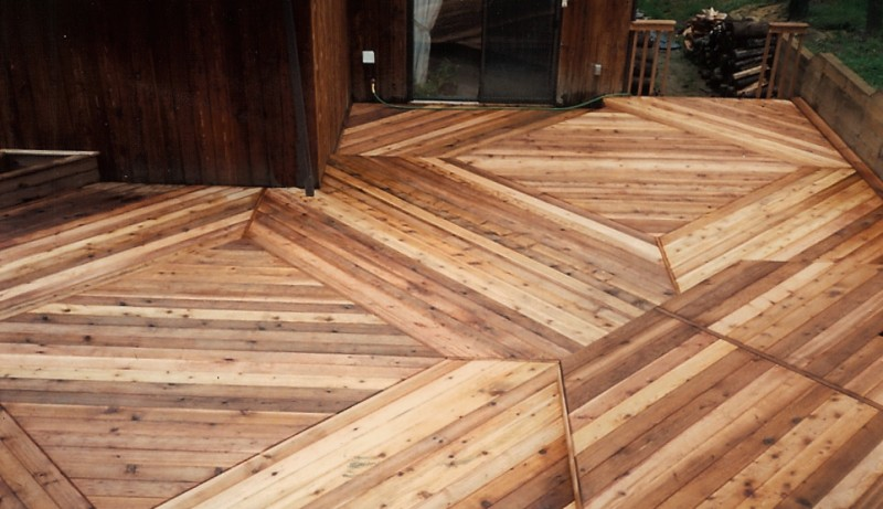 Cedar Double Diamond